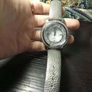 Premier designs free falling crystal watch